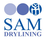 SAM DRYLINING Logo