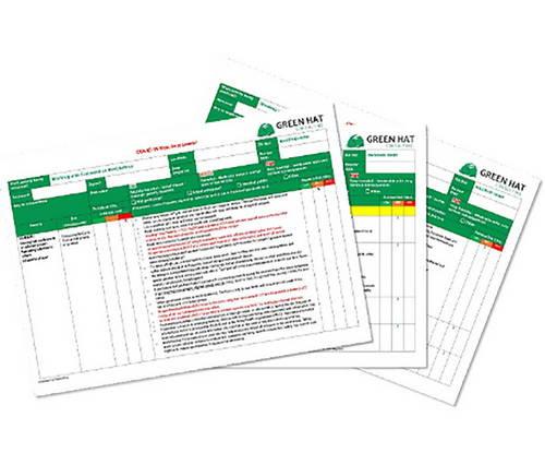 risk assessment forms