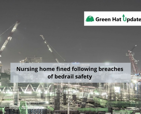 Nursing home fined following breaches of bedrail safety