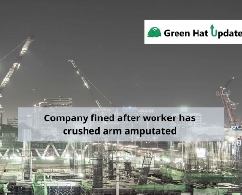 Company fined after worker has crushed arm amputated