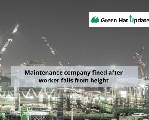 Maintenance company fined