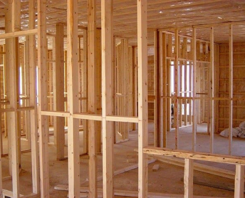 Fire risk in timber frame buildings